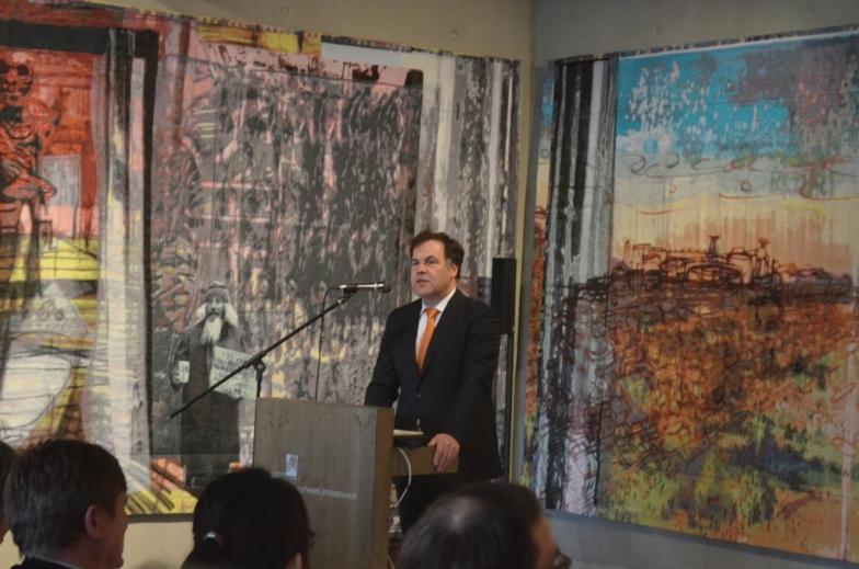 Rede von Minister Stephan Dorgerloh.