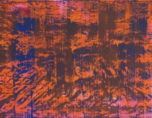 Ulrich Reimkasten_Wald_2003_195 x 250 cm