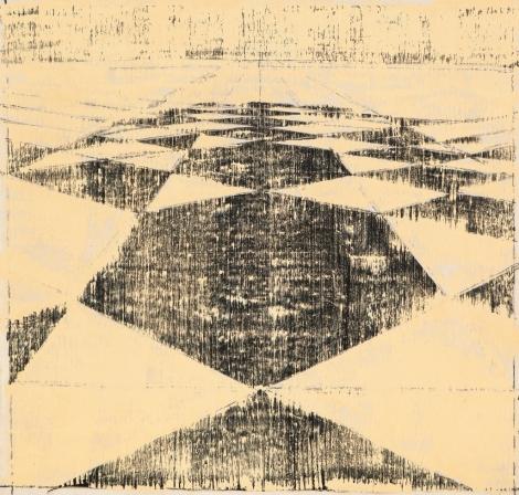 Ulrich Reimkasten_Formation hexagonal_2011_180 x 190 cm