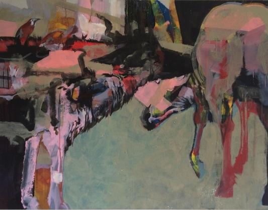 Magdalena Cichon - Fedya - 2016 - 130 x 170 cm - Acryl auf Leinwand
