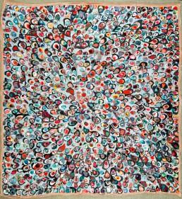 Rebekka Rauschhardt - Unausgesprochene Worte - 2010 286 x 268 cm - Textil genäht