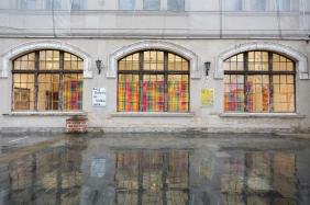 Der unerledigte Gobelin_Ausstellungsansicht_Foto: M. Ritzmann
